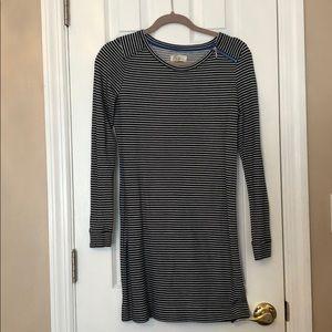 Lou & Grey stripped long sleeve dress